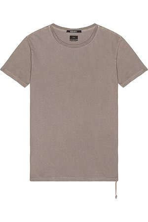 KSUBI Seeing Lines Tee in - Gray. Size L (also in S, M, XL).