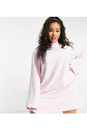 PUMA Mulher Vestidos Casual - Plus Icons 2.0 fashion dress in pink