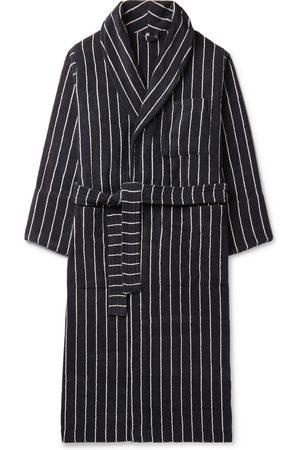 Tekla Homem Roupões de Banho - Striped Organic Cotton-Terry Robe
