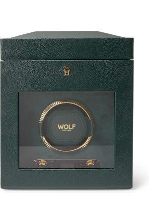 Wolf Homem Relógios - British Racing Pebble-Grain Vegan Leather Watch Winder