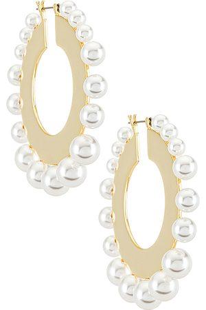 LPA Finley Earring in - Metallic Gold. Size all.