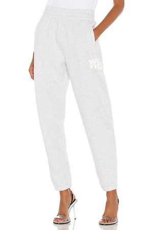 Alexander Wang Foundation Terry Classic Sweatpant in - Grey. Size M (also in XS, S, L).