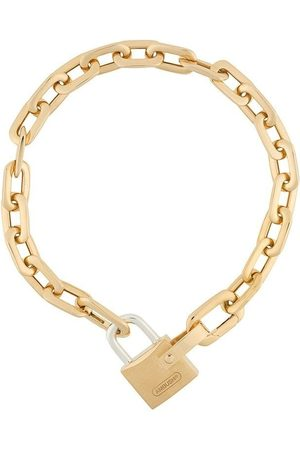 AMBUSH Small padlock chain bracelet