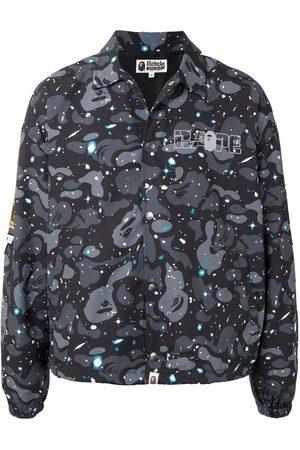A BATHING APE® Space Camo-print shirt jacket