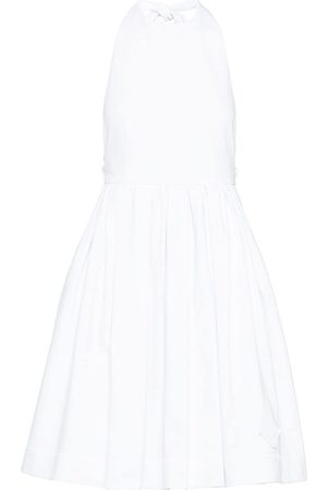 Prada Flared halterneck dress