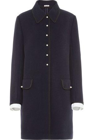 Miu Miu Single-breasted overcoat