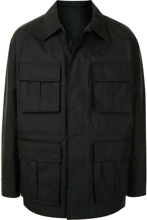 JUUN.J Multi-pocket shirt jacket