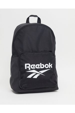 Reebok Classics backpack in black with large logo