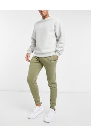 River Island Jogger in khaki-Green