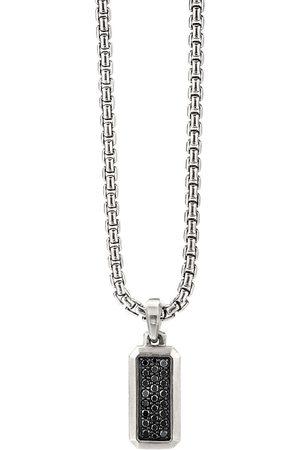 David Yurman Sterling diamond pendant