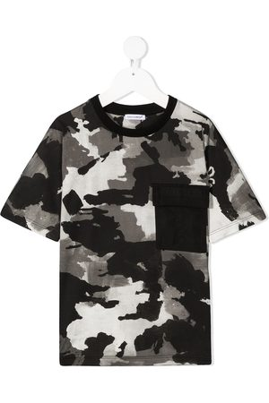 Dolce & Gabbana All-over painted camo T-shirt