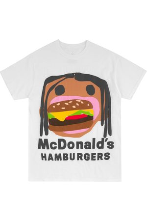Travis Scott Astroworld CPFM Burger Mouth T-shirt