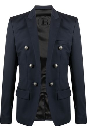 Balmain Button-detailed wool blazer