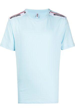 Moschino Logo-tape lounge T-shirt