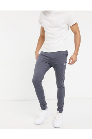 Le Breve Mix and match lounge joggers in navy marl
