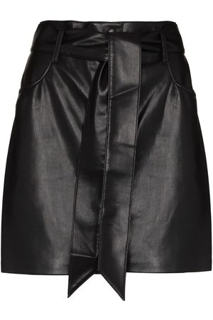 Nanushka Faux-leather mini skirt
