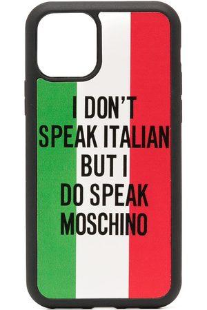 Moschino Italian flag print iPhone 11 case