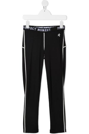 Perfect Moment Logo print thermal track pants