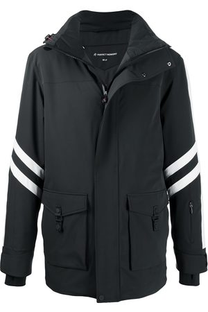Perfect Moment Side stripe detail hooded jacket