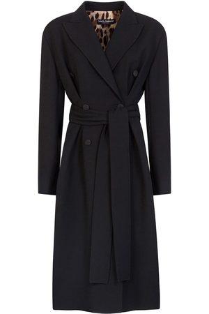 Dolce & Gabbana Peak-lapel trench coat