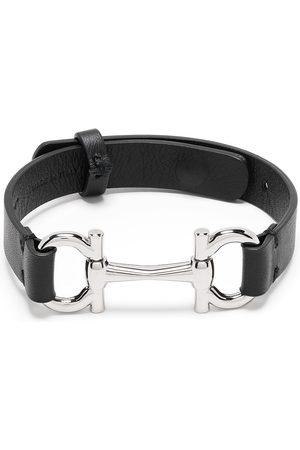 Salvatore Ferragamo Horsebit detail adjustable bracelet