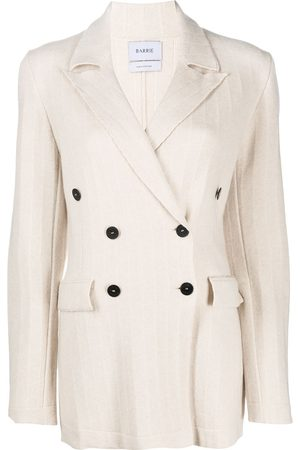 Barrie Senhora Blazers - Double breasted cashmere jacket