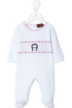 Aigner Bebé Sets - Logo-print baby grow