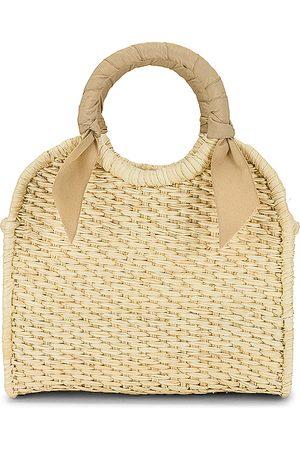 SENSI STUDIO Senhora Malotes - X REVOLVE Midi Handbag in - Beige. Size all.