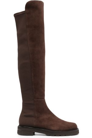 Stuart Weitzman Senhora Botas de Cano Alto - Knee-length suede boots