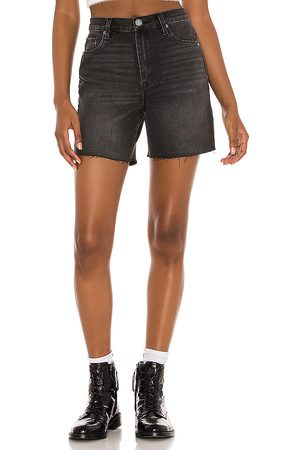 BLANK NYC Cut Off Shorts in - Black. Size 24 (also in 25, 26, 27, 28, 29, 30, 31).