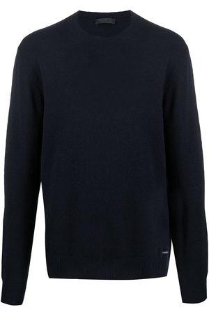 Prada Knitted crew neck jumper