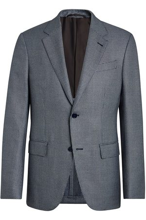 Ermenegildo Zegna Notched-lapel single-breasted blazer