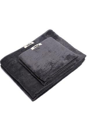 Tekla Organic terry cotton towel set