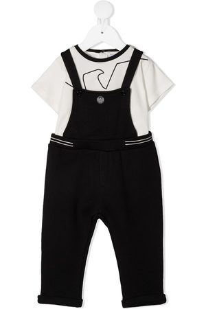 Emporio Armani T-shirt and dungaree set