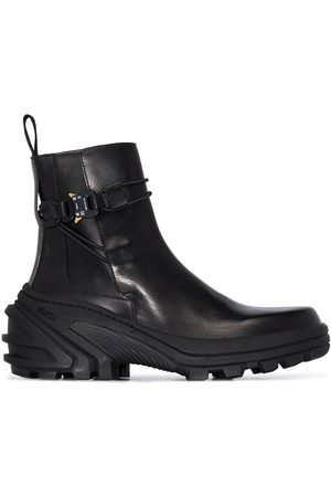 1017 ALYX 9SM Homem Botas - Buckle leather ankle boots