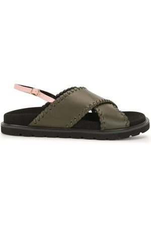 Reike Nen Leather crossover sandals