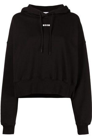 Msgm Logo-print drawstring hoodie