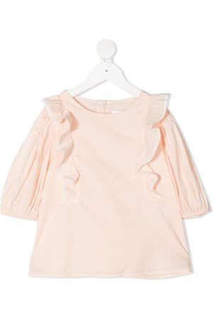Chloé Ruffled long-sleeved top