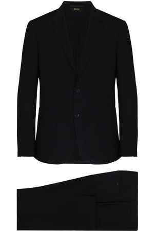 Z Zegna Single-breasted two-piece wool suit