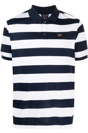 Paul & Shark Homem Manga curta - Striped short sleeve polo shirt