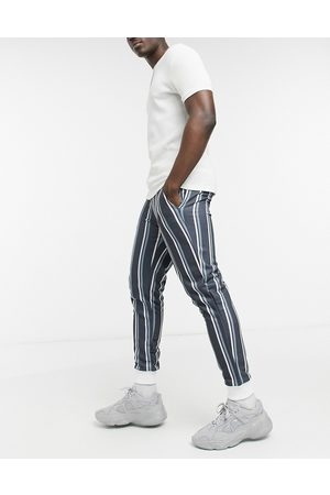 ASOS Homem Joggers - Co-ord skinny joggers with all over stripe-Multi