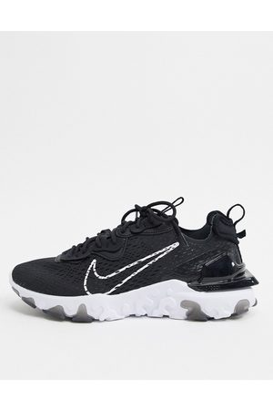 Nike React Vision trainers in black