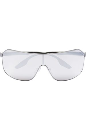 Prada Sport mirrored aviator sunglasses