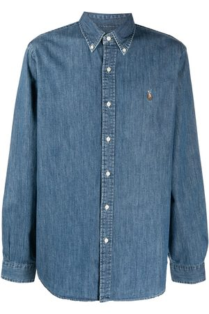 Polo Ralph Lauren Signature Polo Pony motif denim shirt