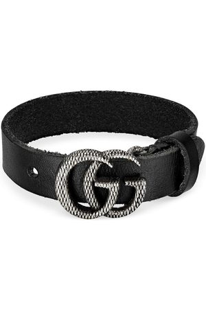 Gucci Engraved Double G bracelet