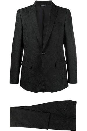 Dolce & Gabbana Floral jacquard martini two-piece suit
