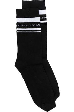 1017 ALYX 9SM Logo intarsia mid-calf socks