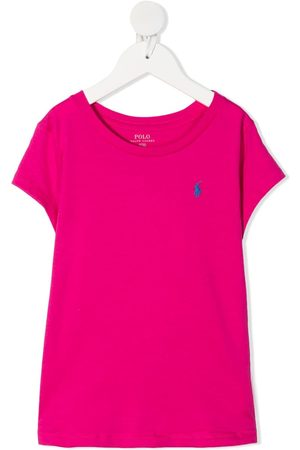Ralph Lauren Signature logo embroidered t-shirt