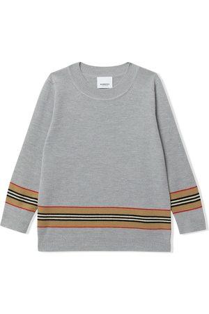 Burberry Icon-stripe jumper