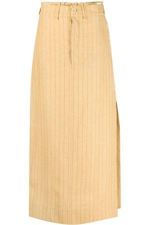 Jacquemus La jupe Terraio straight maxi skirt